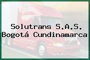 Solutrans S.A.S. Bogotá Cundinamarca