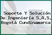 Soporte Y Solución De Ingeniería S.A.S. Bogotá Cundinamarca