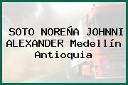SOTO NOREÑA JOHNNI ALEXANDER Medellín Antioquia
