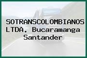 SOTRANSCOLOMBIANOS LTDA. Bucaramanga Santander