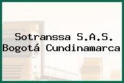 Sotranssa S.A.S. Bogotá Cundinamarca