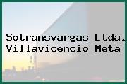 Sotransvargas Ltda. Villavicencio Meta