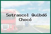 Sotrascol Quibdó Chocó