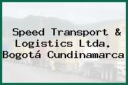 Speed Transport & Logistics Ltda. Bogotá Cundinamarca