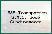 S&S Transportes S.A.S. Sopó Cundinamarca