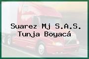 Suarez Mj S.A.S. Tunja Boyacá