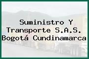 Suministro Y Transporte S.A.S. Bogotá Cundinamarca