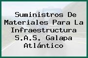 Suministros De Materiales Para La Infraestructura S.A.S. Galapa Atlántico