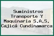 Suministros Transporte Y Maquinaria S.A.S. Cajicá Cundinamarca