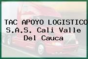 TAC APOYO LOGISTICO S.A.S. Cali Valle Del Cauca