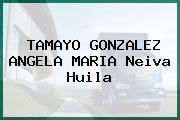 TAMAYO GONZALEZ ANGELA MARIA Neiva Huila