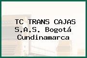 TC TRANS CAJAS S.A.S. Bogotá Cundinamarca