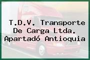 T.D.V. Transporte De Carga Ltda. Apartadó Antioquia