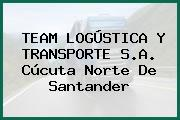 TEAM LOGÚSTICA Y TRANSPORTE S.A. Cúcuta Norte De Santander
