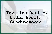 Textiles Decitex Ltda. Bogotá Cundinamarca