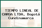 TIEMPO LINEAL DE CARGA LTDA. Bogotá Cundinamarca