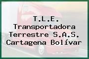 T.L.E. Transportadora Terrestre S.A.S. Cartagena Bolívar