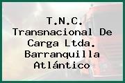 T.N.C. Transnacional De Carga Ltda. Barranquilla Atlántico