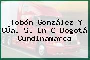 Tobón González Y CÚa. S. En C Bogotá Cundinamarca