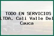 TODO EN SERVICIOS LTDA. Cali Valle Del Cauca