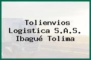 Tolienvios Logistica S.A.S. Ibagué Tolima