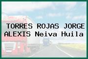 TORRES ROJAS JORGE ALEXIS Neiva Huila