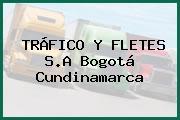 TRÁFICO Y FLETES S.A Bogotá Cundinamarca