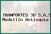 TRANPORTES 3D S.A.S Medellín Antioquia