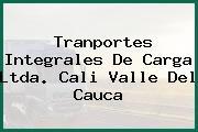 Tranportes Integrales De Carga Ltda. Cali Valle Del Cauca