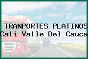 TRANPORTES PLATINOS Cali Valle Del Cauca