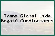Trans Global Ltda. Bogotá Cundinamarca