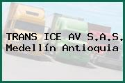 TRANS ICE AV S.A.S. Medellín Antioquia