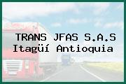 TRANS JFAS S.A.S Itagüí Antioquia
