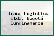 Trans Logistica Ltda. Bogotá Cundinamarca