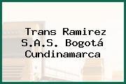 Trans Ramirez S.A.S. Bogotá Cundinamarca