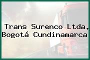 Trans Surenco Ltda. Bogotá Cundinamarca