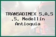TRANSADIMEX S.A.S .S. Medellín Antioquia