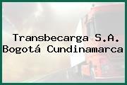 Transbecarga S.A. Bogotá Cundinamarca