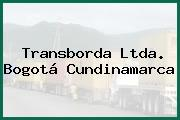 Transborda Ltda. Bogotá Cundinamarca
