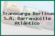 Transcarga Berlinas S.A. Barranquilla Atlántico