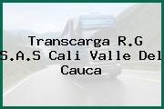 Transcarga R.G S.A.S Cali Valle Del Cauca