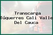 Transcarga Túquerres Cali Valle Del Cauca