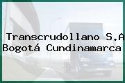 Transcrudollano S.A Bogotá Cundinamarca