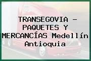 TRANSEGOVIA - PAQUETES Y MERCANCÍAS Medellín Antioquia