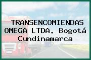 TRANSENCOMIENDAS OMEGA LTDA. Bogotá Cundinamarca