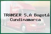 TRANSER S.A Bogotá Cundinamarca