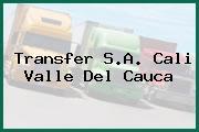 Transfer S.A. Cali Valle Del Cauca