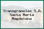 Transgraneles S.A. Santa Marta Magdalena