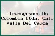 Transgranos De Colombia Ltda. Cali Valle Del Cauca