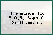 Transinverlog S.A.S. Bogotá Cundinamarca